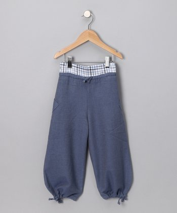 Blue Cosaque Pants - Infant, Toddler & Boys