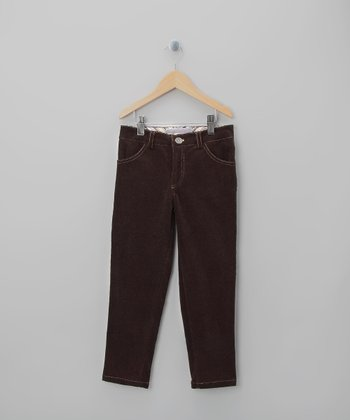 Brown Jack Pants - Toddler & Girls