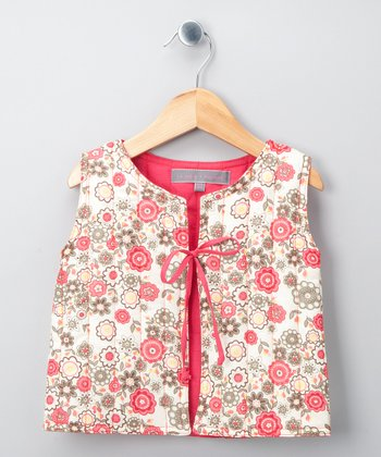 Cherry Manon Vest - Girls