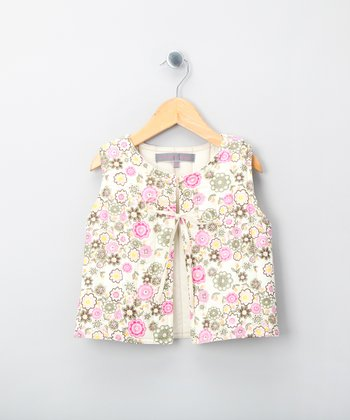 Pink Manon Vest - Girls