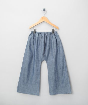 Blue Sarouel Flare Pants - Infant, Toddler & Boys