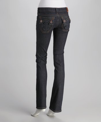Raw Blue Hermosa Beach Straight-Leg Jeans