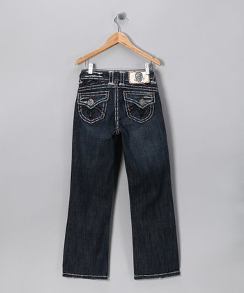 Black Stitch Redondo Beach Jeans - Boys