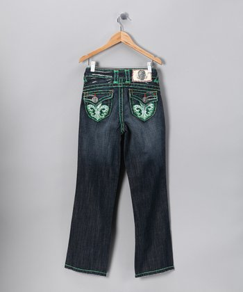 Green Stitch Redondo Beach Jeans - Boys