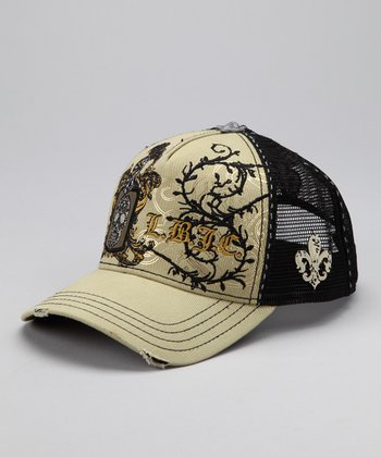Laguna Beach Light Olive Monarch Bay Baseball Cap