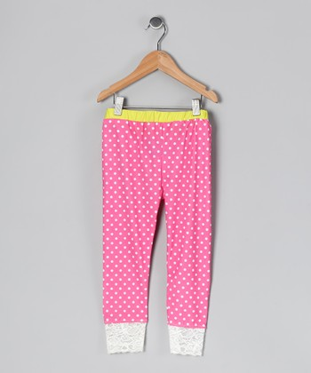 Jewel Sparkles Leggings - Girls
