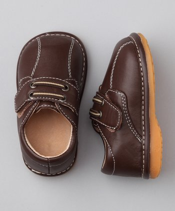Dark Brown Squeaker Shoe