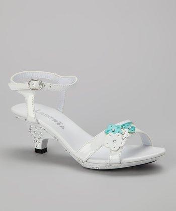 White Flower Cluster Sandal