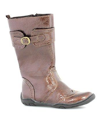 Bronze Buckle Boot