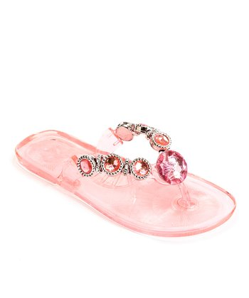 Pink Jewel Sandal