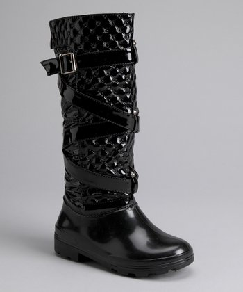 Black Sasha Boot - Women