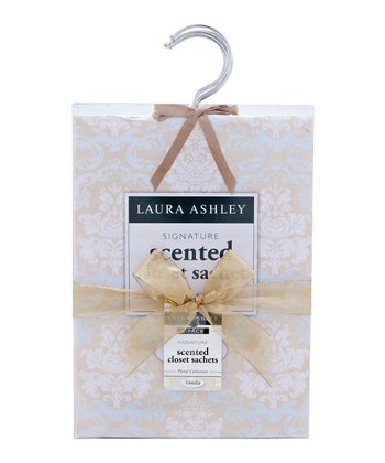 Vanilla Scented Hanging Sachet - Set of Six
