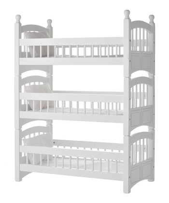 Triple Doll Bunk Bed Set