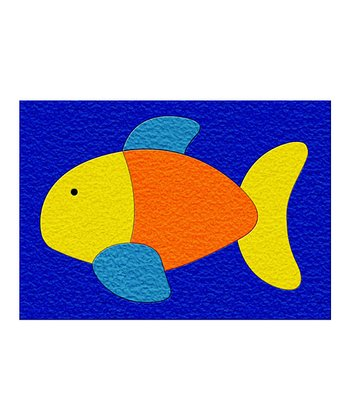 Fish Crepe Rubber Puzzle