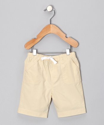 Khaki Shorts - Infant & Toddler