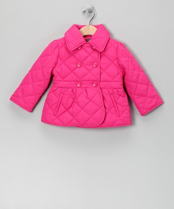 Pink Puffer Coat - Infant & Toddler