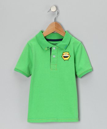 Green Monster Polo - Infant & Toddler
