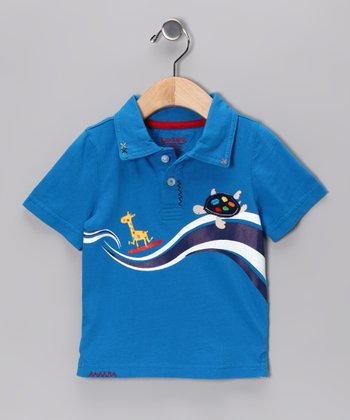 Royal Turtle Polo  - Infant