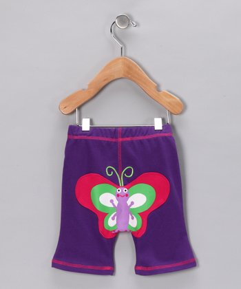 Purple Butterfly Pants - Infant & Toddler