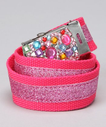 Pink Jewel Glamour Belt