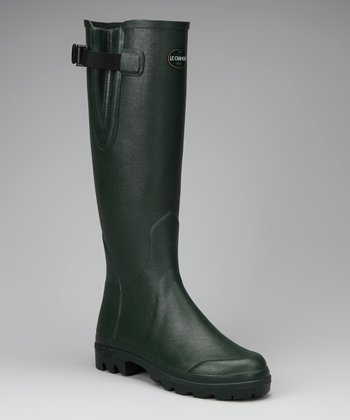 Dark Green Vierzon Lady Rain Boot