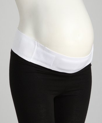 White Maternity Support Belt - Women & Plus