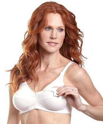 White Wireless Nursing Bra - Women & Plus