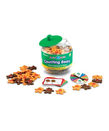 Goodie Games Counting Bears Set