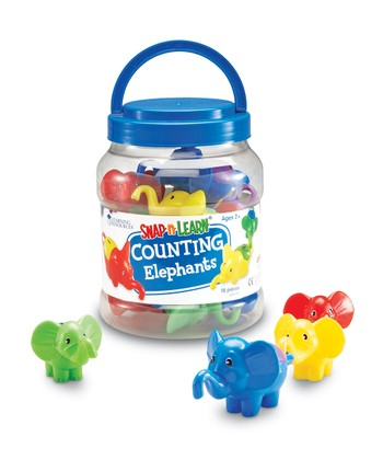 Counting Elephants Snap 'N' Learn Set