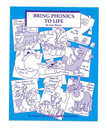Learning Wrap-Ups Bring Phonics to Life Coloring Book