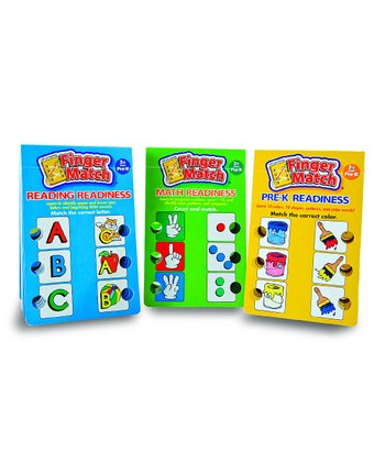 Learning Wrap-Ups Finger Match Set