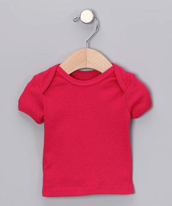Canboli Fuchsia Organic Short-Sleeve Tee - Infant