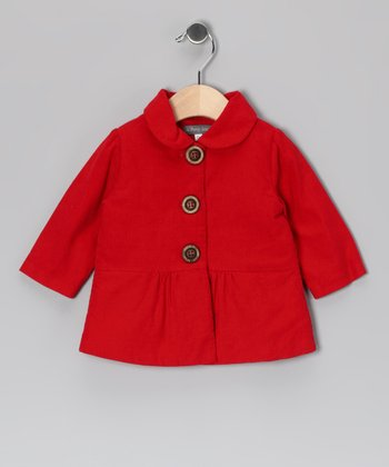 Red Corduroy Jacket - Infant