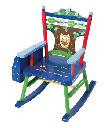 Owl Rocker Rocking Chair