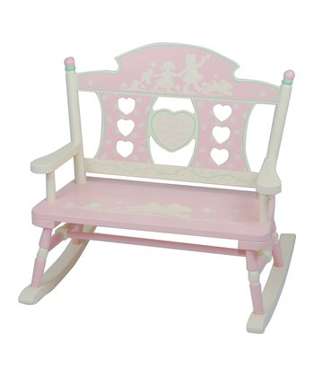 Rock-A-My-Baby Double Bench Rocker