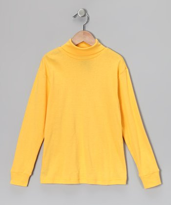 Orange Turtleneck - Toddler & Kids