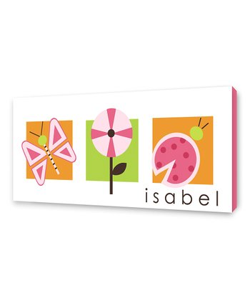 Orange Summer Personalized Canvas