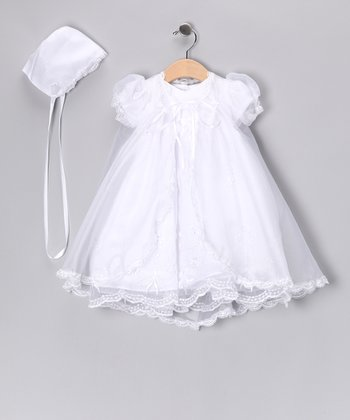 White Christening Set - Infant & Toddler