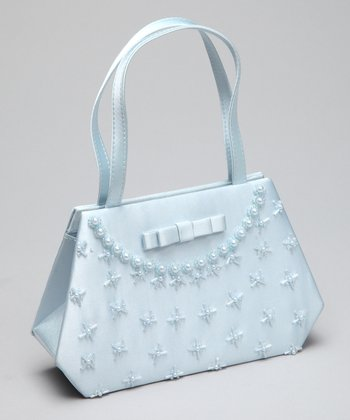 Lida Light Blue Purse