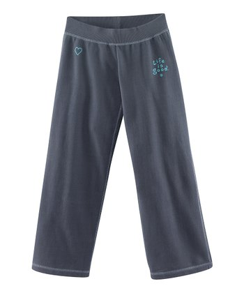True Blue Soft Wash Sweatpants - Toddler & Girls