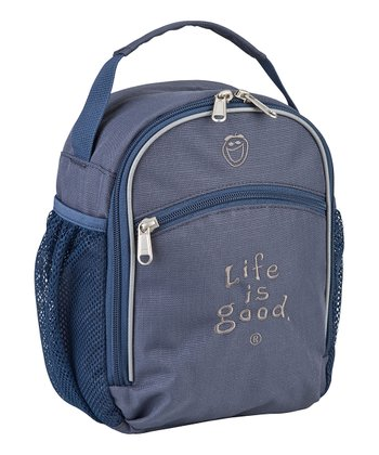 True Blue Mesh Pocket Lunch Bag