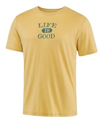 Classic Gold Athletic LIG Short-Sleeve Sleep Tee - Men