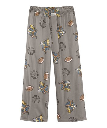 Warm Gray Game On Pajama Pants - Toddler & Boys