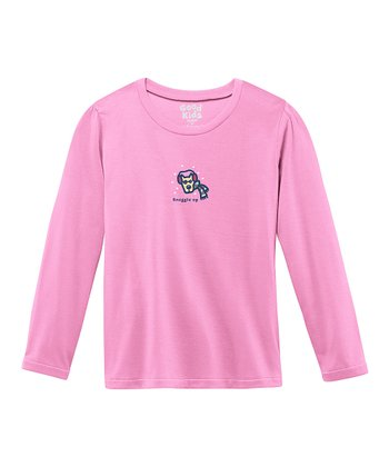 Peony Pink 'Snuggle Up' Sleep Shirt - Girls