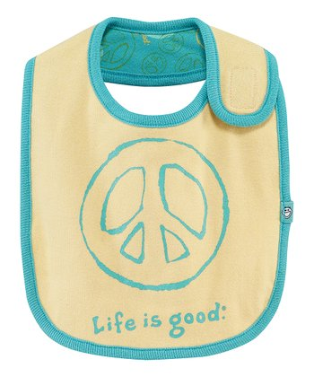 Yellow Jamboree Peace Bib