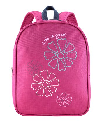 Magenta Flower Backpack