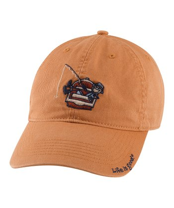 Copper Kickback Fish Chill Baseball Cap - Men