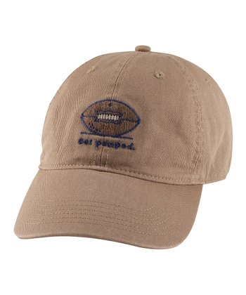 Simply Light Brown 'Get Pumped' Chill Baseball Cap - Men