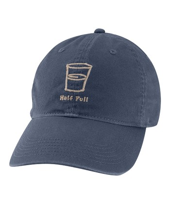 True Blue 'Half Full' Chill Baseball Cap - Men