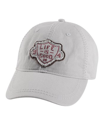 Simply Light Gray LIG Choice Baseball Cap - Men